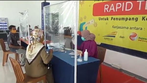Libur Panjang, Pemohon Rapid Test di Stasiun Jombang Naik Berlipat