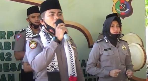 Maulid Nabi Muhammad SAW 2020, Kapolres Kupang Ajak Anggota Teladani Akhlak Nabi