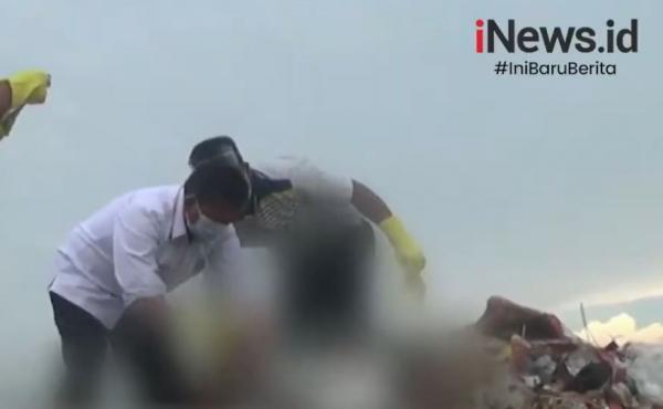Video Pria Tanpa Identitas Ditemukan Tewas Dalam Karung di TPA Punggur Batam