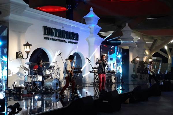 Once-Shaggy Dog Ramaikan Konser Virtual Sumpah Pemuda di Bandara YIA