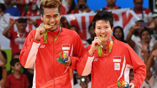 Ini Pebulutangkis Indonesia Peraih Medali Emas Olimpiade