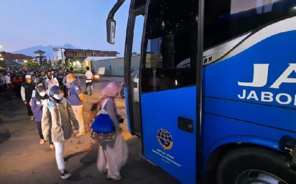 Layanan Bus Gratis Stasiun Bogor Hanya sampai 21 Desember 2020