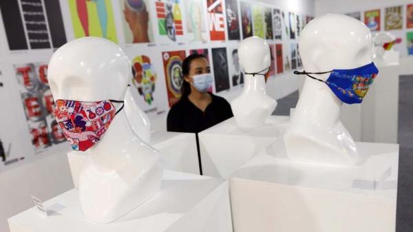 Deretan Ragam Desain Masker dari Berbagai Negara