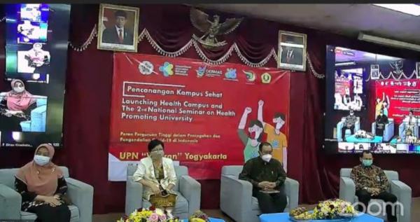 Canangkan Program Kampus Sehat, Menkes Terawan Tekankan Pentingnya Terapkan Perilaku Hidup Bersih dan Sehat