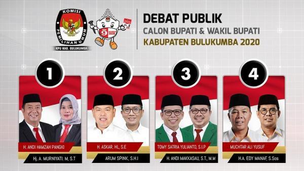 Debat Pilkada Bulukumba Malam Ini Live Streaming Di Youtube Official Inews