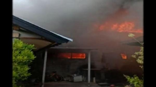 Gudang Kasur Terbakar di Badung Bali, Kerugian Capai Miliaran