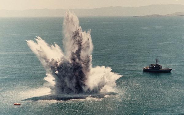 Pasukan Koalisi Arab Hancurkan Kapal Bermuatan Peledak Dikendalikan Milisi Dukungan Iran