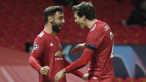 Manchester United Bantai Istanbul Basaksehir, Bruno Fernandes Borong 2 Gol