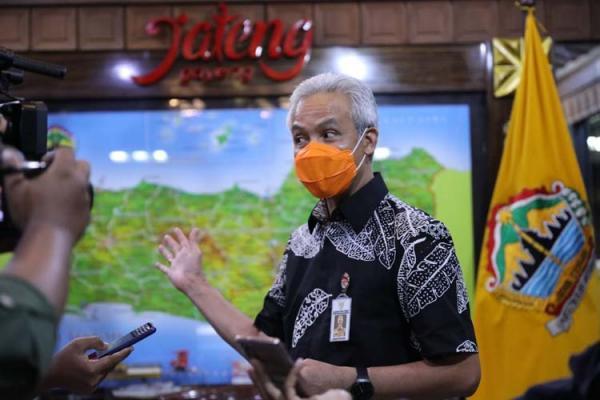Ganjar Pranowo : UU Cipta Kerja sebagai Jalan Tol Atasi Over Regulasi