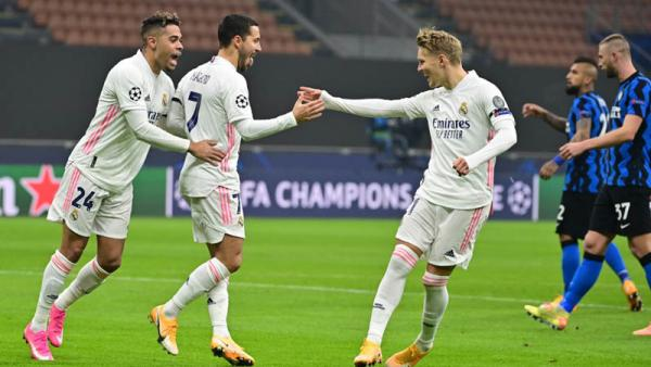 Vidal Kartu Merah, Real Madrid Permalukan 10 Pemain Inter Milan