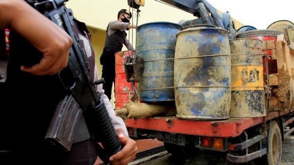 Polres Nagan Raya Amankan 2,6 Ton BBM Subsidi
