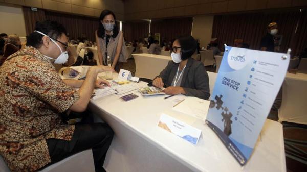 Antusiasme Peserta ICTM 2020 Ikuti Program Buyers Meet Sellers di Bali