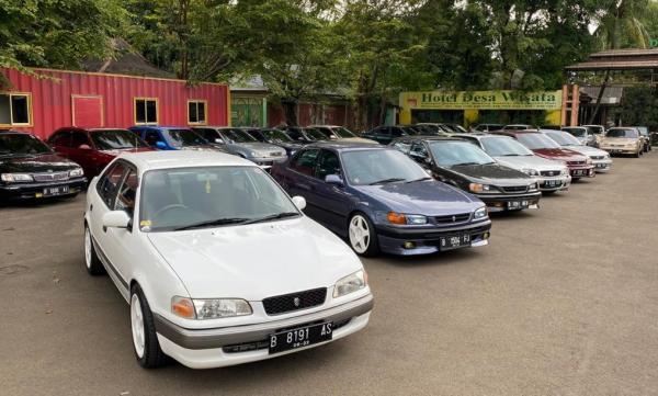 Ultah Ke-2, Komunitas Toyota Corolla JANC Gelar Edukasi Otomotif dan Pencegahan Covid-19