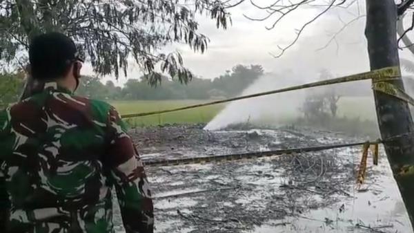 Semburan Gas Bercampur Lumpur Kembali Muncul, Warga Indramayu Resah