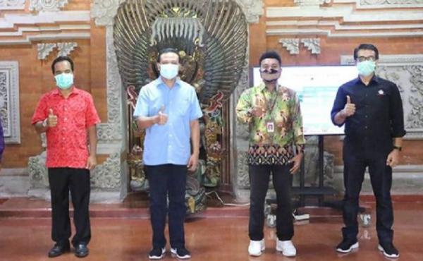 Sekda Bali Titip Pesan ke Stafsus Milenial Jokowi: Tolong Insentif UMKM Ditingkatkan
