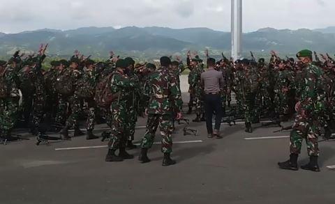Video Pasukan Khusus TNI Tiba di Palu
