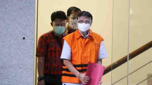 Mantan Direktur Garuda Indonesia Hadinoto Soedigno Ditahan KPK