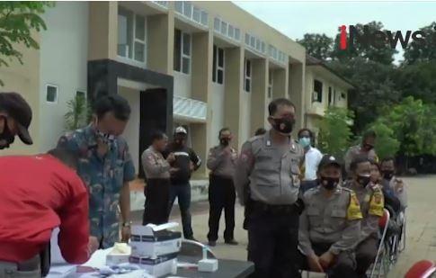 Video 30 Polisi Pengamanan Pilkada Jateng Reaktif Covid-19