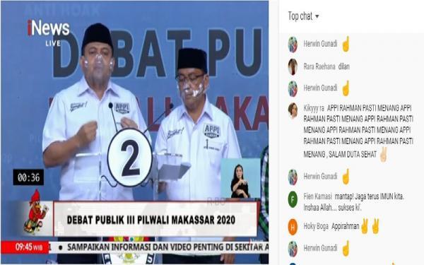 Debat Pilwali Makassar Digelar di Jakarta, Warga Perang Komentar di YouTube