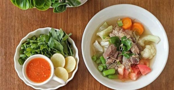 Tubuh Mulai Demam dan Flu, Yuk Bikin Sup Daging untuk Perkuat Imunitas