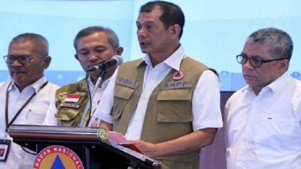 Positif Covid-19, Kepala BNPB Doni Monardo Jalani Isolasi Mandiri
