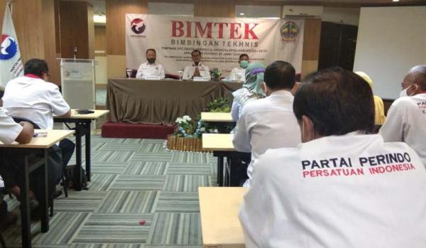 Perindo Kumpulkan Wakil Rakyat se-Jateng, Sekjen : Jangan Korupsi,  Kalau Sampai Korupsi, Selesai!