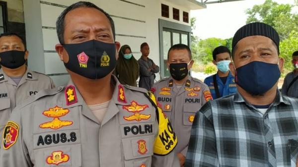 Jelang Rapat Pleno KPU, Polres Bangka Selatan Perketat Pengamanan