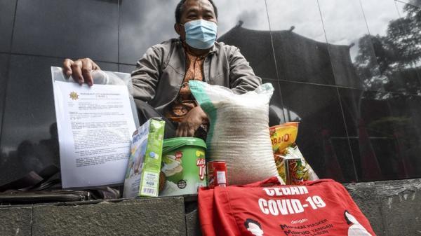Pemkot Cimahi Pasok Sembako untuk Warga Isolasi Mandiri di Rumah