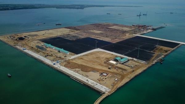 Ini Progres Proyek Pembangunan Pelabuhan Patimban di Subang
