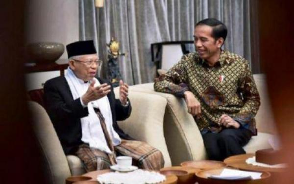 Reshuflle Makin Dekat, Jokowi-Ma'ruf Bicara Empat Mata