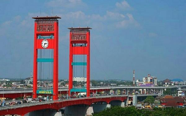 Ada Uji Beban, Jembatan Ampera Akan Ditutup Mulai 26-28 September 2021