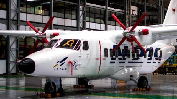 Pertama Kali, Pesawat N219 Buatan Indonesia Diperkenalkan di Pameran Internasional