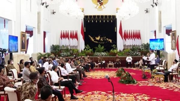 Di Depan Anggota Kabinet, Jokowi: Perasaan Kita Harus Sama, 1 Berbeda Bahaya