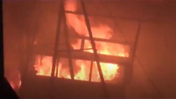 Rumah Warga Sergai Terbakar di Malam Tahun Baru, Diduga akibat Tumpahan Bensin