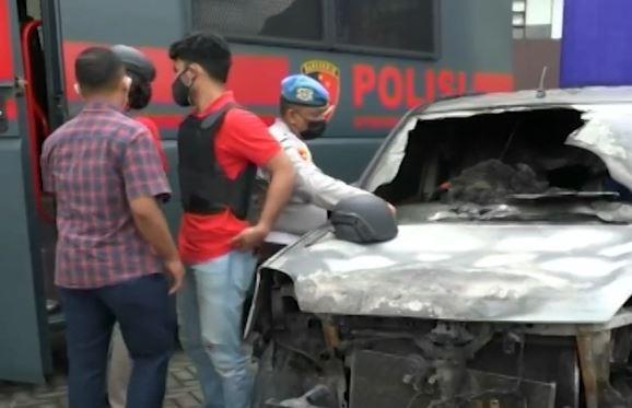 Video Buronan Pelemparan Bom Molotov di Riau Ditangkap