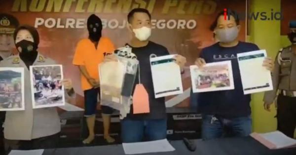 Video Pengantin Baru di Bojonegoro Dijebloskan ke Penjara Gegara Gelar Pesta Pernikahan