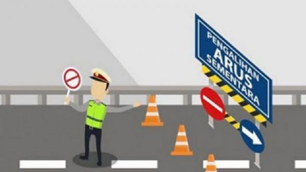 Antisipasi Macet Arus Balik, Polda Sumut Berlakukan Contraflow Jalur Berastagi-Medan