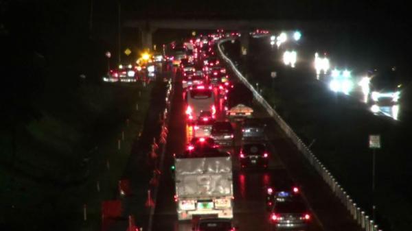 Jasa Marga Catat 322.764 Kendaraan Kembali ke Jakarta Usai Libur Panjang