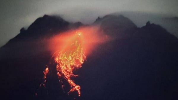 BPPTKG Catat 5 Kali Guguran di Merapi dengan Jarak Luncur 800 Meter