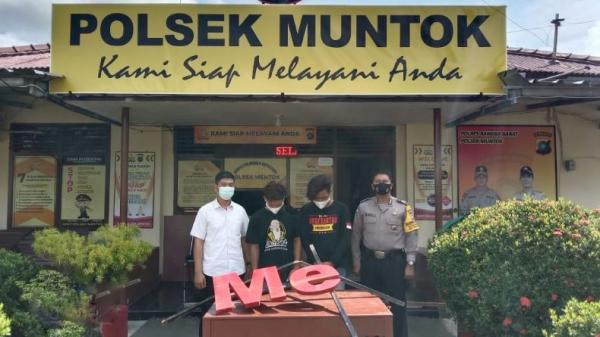 Polisi Tangkap Pelaku Perusakan Papan Nama Bukit Menumbing Muntok