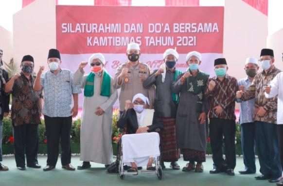 Gelar Doa Bersama di Tahun 2021, Kapolda NTB: Semoga Semua Masalah Dapat Solusi