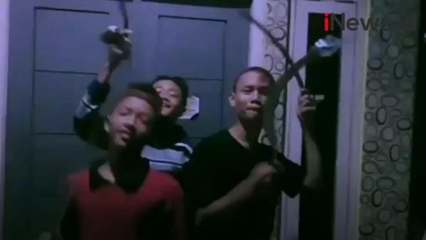 Video Viral Pelajar Joget TikTok Bawa Sajam Jelang Tawuran di Depok, Pelaku Ditangkap Polisi