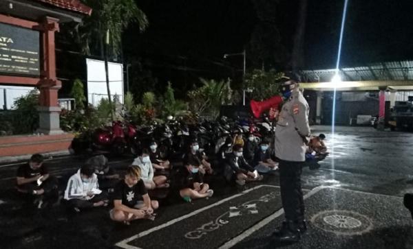 Balapan Liar di Badung Bikin Resah, 36 Orang Pelaku Tidak Ditahan