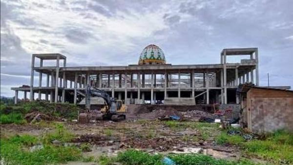 Dinas PUPR Malut Pacu Infrastruktur, Masjid Raya Sofifi Segera Dijadikan Ikon Ibu Kota