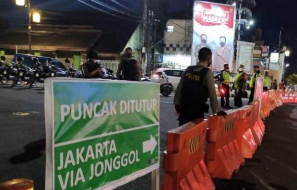 Longsor di Gunung Mas Bogor, Polisi Tutup Jalur Cianjur-Puncak