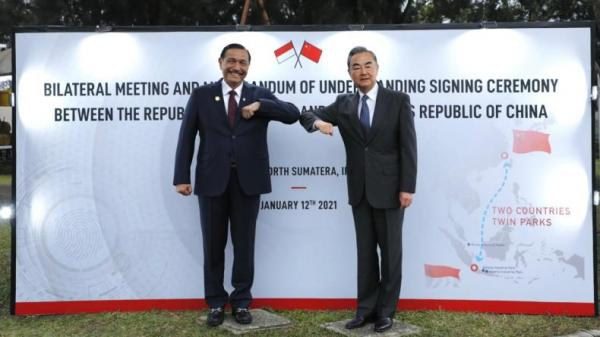 Menlu China Tiba di Indonesia, Besok Bertemu Presiden Jokowi