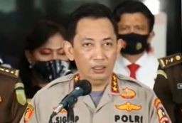Video Komjen Pol Listyo Sigit Calon Tunggal Kapolri Gantikan Jenderal Idham Aziz