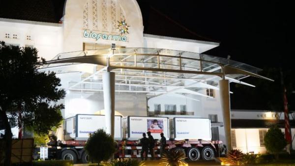 15 Juta Bahan Baku Vaksin Sinovac Tiba di Bandung, Bio Farma Siap Produksi Massal