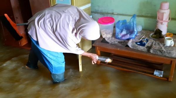 Sungai Cikidang dan Citanduy Tasikmalaya Meluap, Ratusan Rumah Kebanjiran