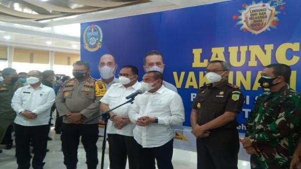 Hari Ini 34.840 Vial Vaksin Covid-19 Tiba di Medan